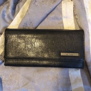 Kenneth Cole Leather Wallet Clutch